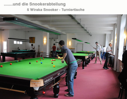 snookertisch 3,4,5